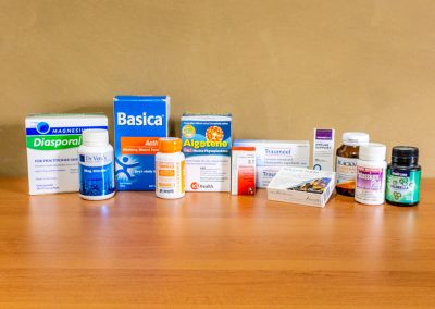 Assorted vitamins, minerals and supplements